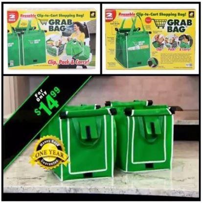 圖片 Grab Bag 萬用環保袋 (1套2個)