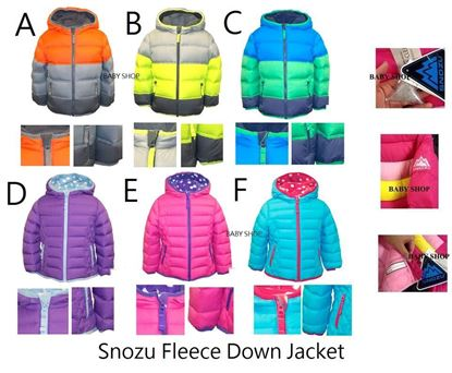 圖片 Snozu Fleece Down Jacket 80%羽絨褸