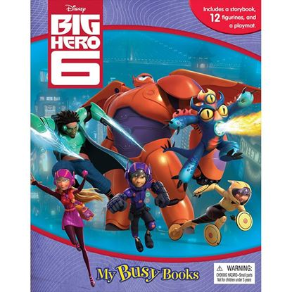 圖片 Disney My Busy Book -Big Hero