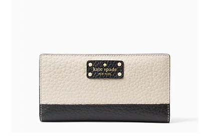 Picture of *貨品已SOLD OUT* P4U 空運: Kate Spade 真皮銀包 黑配白