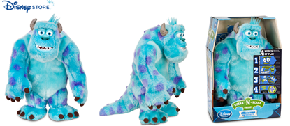 Picture of 開倉 : Sulley Speak-N-Scare Talking Action Figure - Monsters University