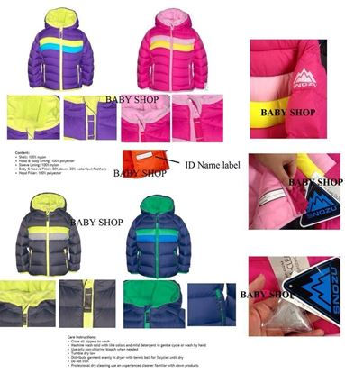 圖片 Snozu Fleece Lined Down Jacket (80% 羽絨褸)