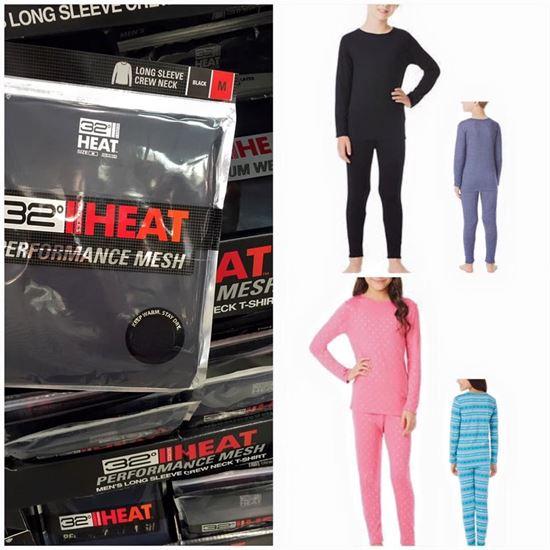 圖片 32 Heat Degrees 童裝熱感內衣連褲套裝 (顏色隨機)