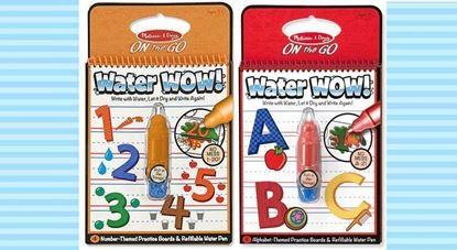 圖片 Melissa&Doug - Water WOW 魔法水畫板 橙色