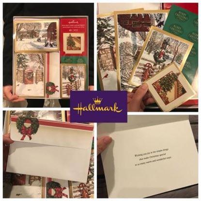 Picture of Hallmark 聖誕卡套裝