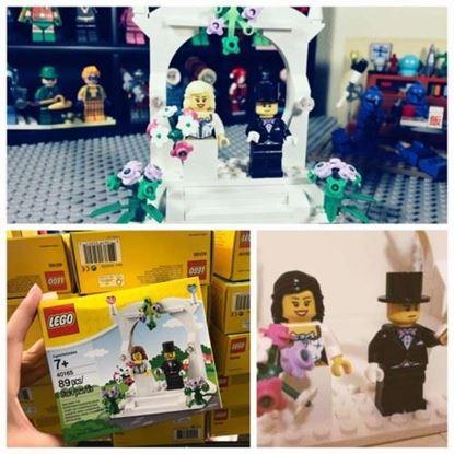 圖片 LEGO 40165 婚禮套裝