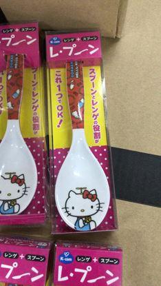 圖片 日本 Hello Kitty 大湯匙