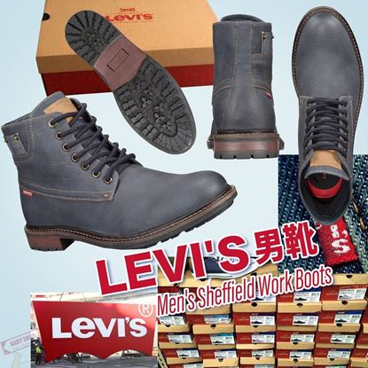 Picture of *貨品已截單* A P4U 2底: 男裝Levi's Sheffield Work 男靴