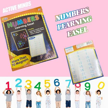 Picture of ACTIVE MINDS - NUMBERS Learning Easel