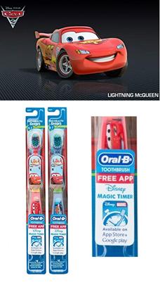 圖片 Oral-B 牙刷 車王 (1套2支)