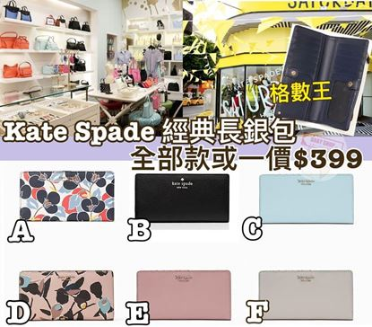 Picture of Kate Spade 長款銀包