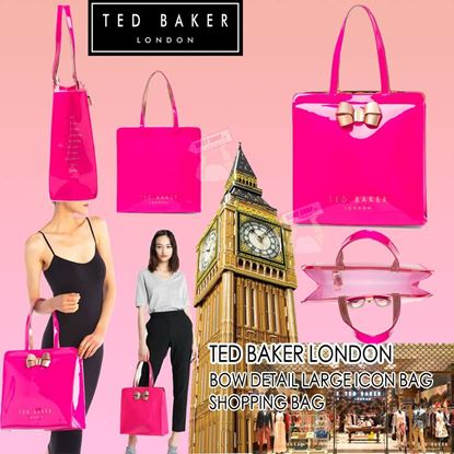 Picture of Ted Baker 蝴蝶經典防水袋 桃紅色