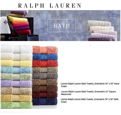 圖片 Ralph Lauren 擦手巾
