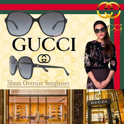 Picture of *貨品已截單* A P4U 空運: Gucci 58mm 女裝太陽眼鏡