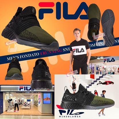 Picture of *貨品已截單* A P4U 5底: Fila Fondato 4 Running 男裝跑鞋