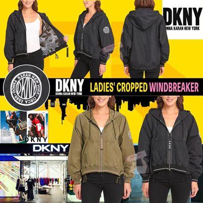 Picture of *貨品已截單* A P4U 5底: DKNY Cropped Windbreaker 女裝風褸