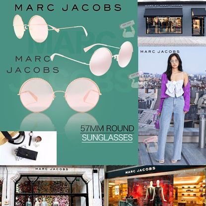 Picture of *貨品已截單* A P4U 空運: Marc Jacobs 57mm 圓形女款墨鏡