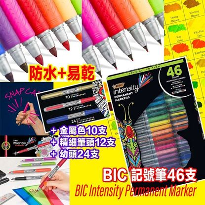 Picture of BIC intensity 記號筆 (1套46色)