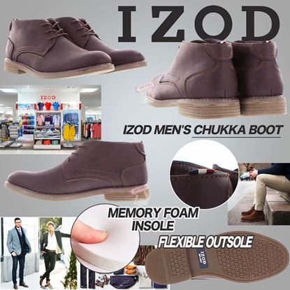Picture of *貨品已截單* A P4U 6中: IZOD Chukka Boot男士短靴