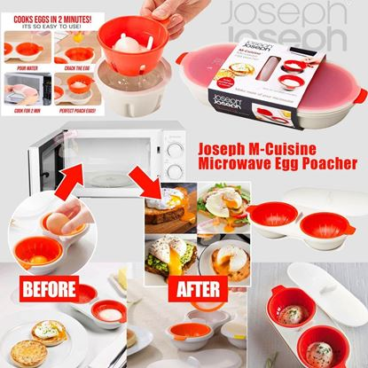 Picture of Joseph M-Cuisine Microwave Egg Poacher