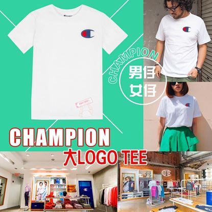 Picture of Champion 大Logo 中童Tee 白色