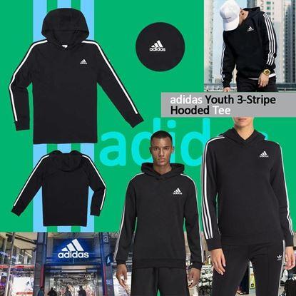 圖片 *貨品已截單* A P4U 7底: Adidas 中童經典Hooded(黑色)
