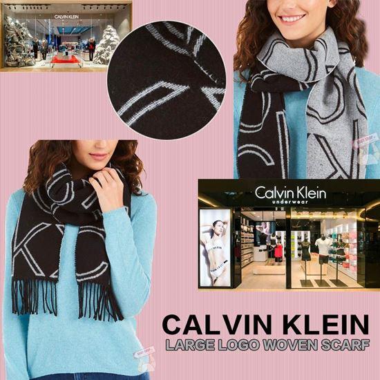 圖片 *貨品已截單* A P4U 8底: Calvin Klein 女裝大Logo頸巾