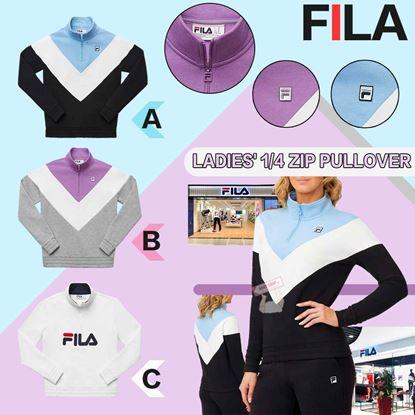 圖片 *貨品已截單* A P4U 8底: Fila 1/2 Zip Pullover 女裝衛衣