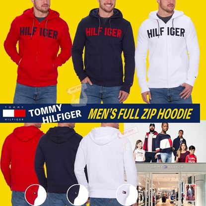 Picture of Tommy Hilfiger 男裝衛衣外套 紅色 XL