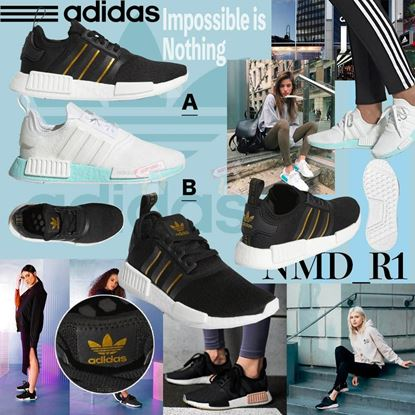 圖片 Adidas NMD_R1 女裝休閒鞋