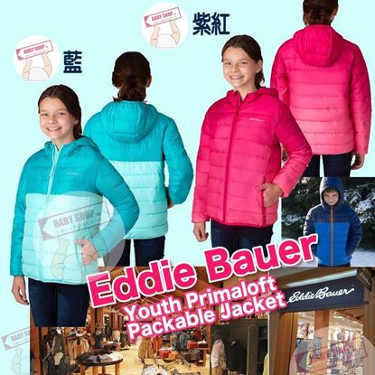 Picture of Eddie Bauer 女童夾棉外套 粉藍色 XS(5-6T)