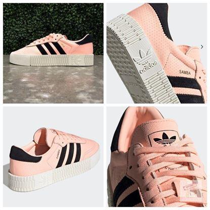 圖片 Adidas Sambarose 女裝厚底波鞋 (粉紅色) US7.5