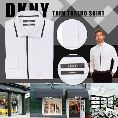 Picture of DKNY 男仔中童恤衫 (白色黑邊)