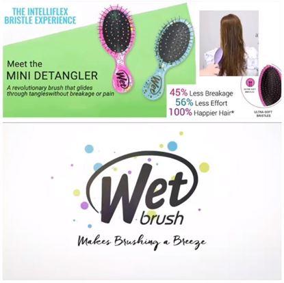 Picture of Wet Brush Mini 輕便易打理梳 (1套2把)