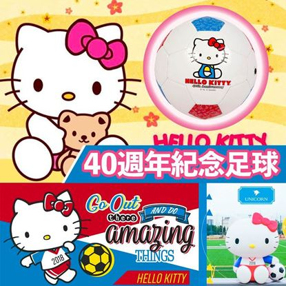 Picture of Hello Kitty 40週年紀念足球