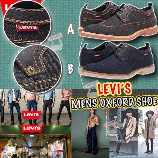 圖片 **貨品已截單**A P4U 12底: Levi's Denim Oxford 牛仔布男鞋
