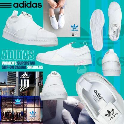 圖片 Adidas SUPERSTAR Slip On 女裝鞋 (白色)