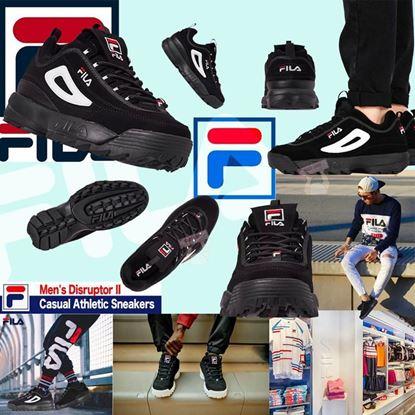 圖片 FILA Casual Athletic 男裝波鞋 (黑色) US9.5