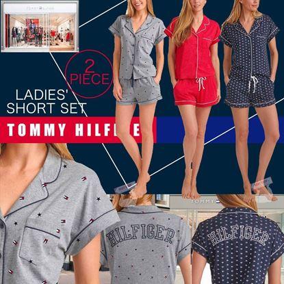 Picture of A P4U 1中: Tommy Hilfiger 女裝睡衣套裝(顏色隨機)
