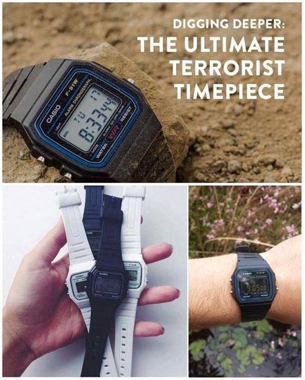 圖片 Casio F-91W-1CR 防水電子手錶 黑色