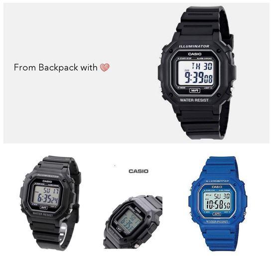 圖片 Casio 防水電子手錶
