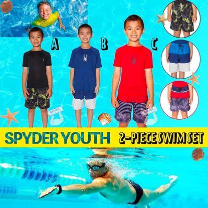 圖片 Spyder 男仔中童泳衣套裝