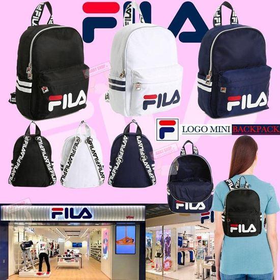 圖片 FILA 小背包 白色