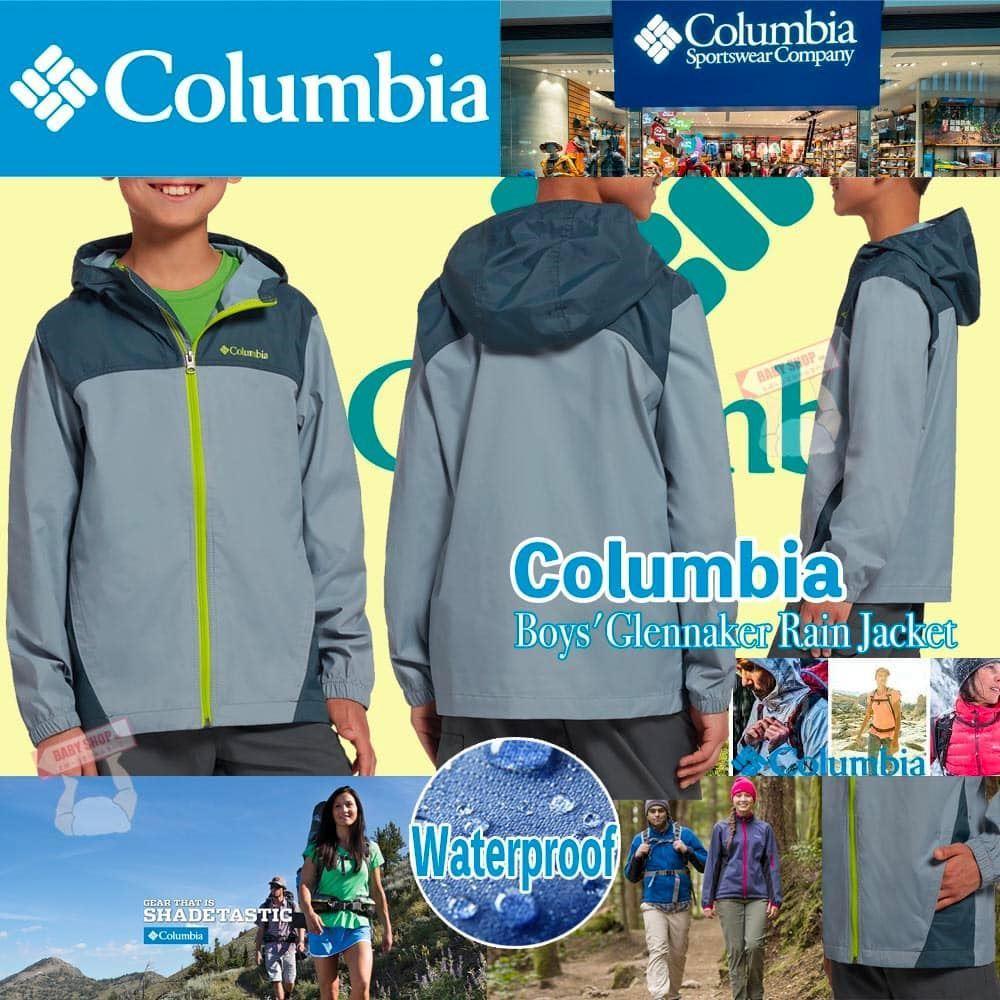 圖片 Columbia 中童外套 (灰藍色)