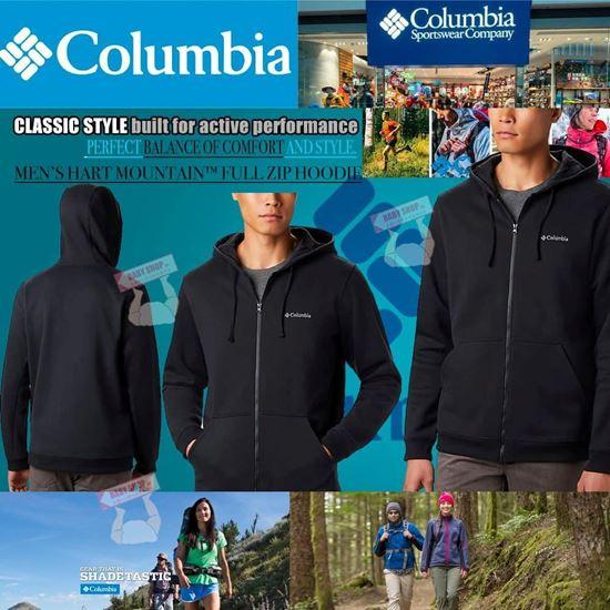 圖片 Columbia 男裝棉外套 (黑色)