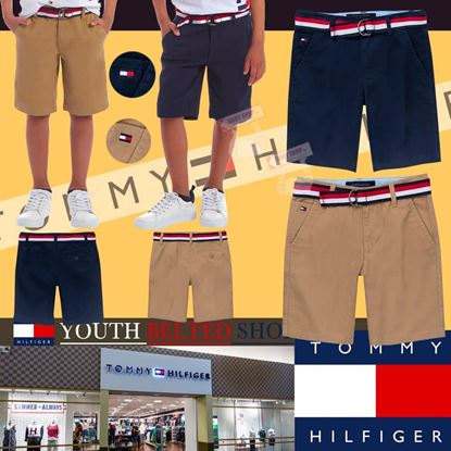Picture of Tommy Hilfiger 中童短褲連皮帶