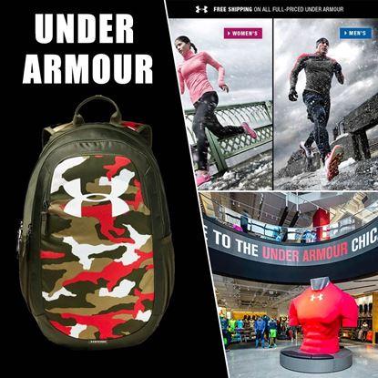 Picture of Under Armour 2.0 大LOGO款書包 迷彩