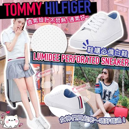 Picture of *貨品已截單* A P4U 2中: Tommy Hilfiger Lumidee 女裝休閒鞋(白色)