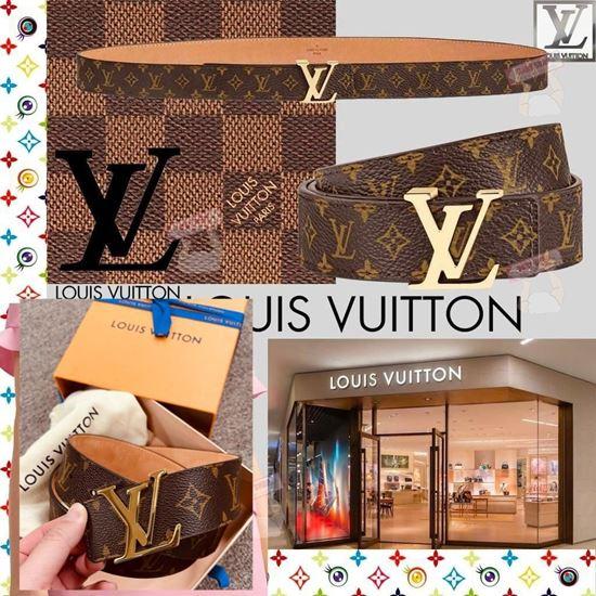 圖片 *h貨品已結束* A P4U 空運: Louis Vuitton 真皮皮帶 40mm Size: 85cm
