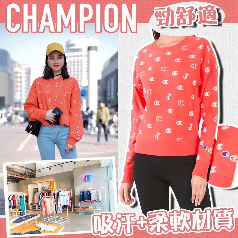 圖片 **貨品已截單**A P4U 3中: Champion Reverse Weave 女裝Logo衛衣